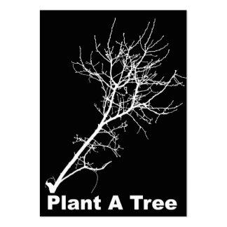 Planta del ATC de ACEO un árbol Plantillas De Tarjetas De Visita