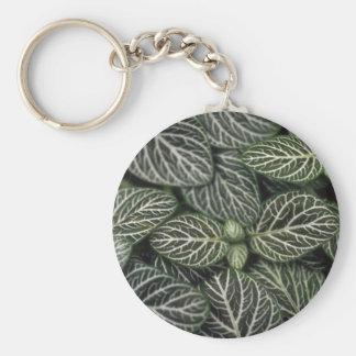Planta del nervio de la planta llavero redondo tipo pin