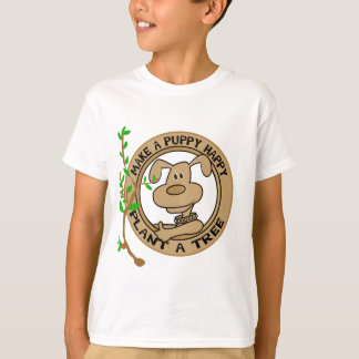 Planta del perrito camisetas y regalos de un árbol