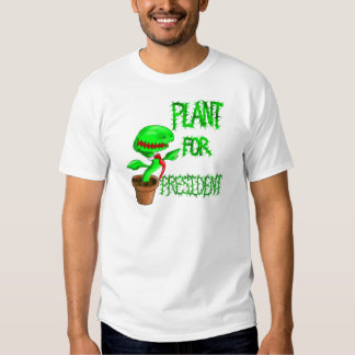 Planta para el presidente playeras
