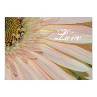 Planta para la flor de la curación invitación 12,7 x 17,8 cm