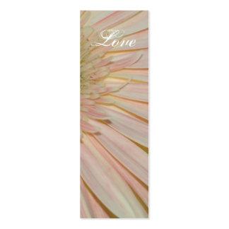 Planta para la señal de la flor de la curación tarjetas de visita