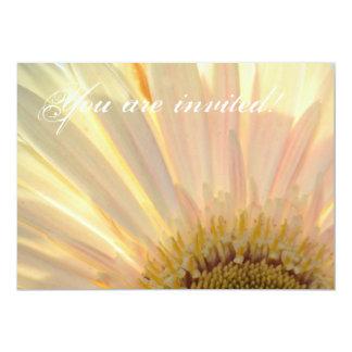 Planta para las invitaciones de la flor de la invitación 12,7 x 17,8 cm