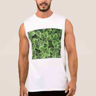 planta camiseta sin mangas