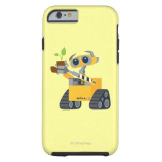 Planta que se sostiene triste del robot de WALL-E Funda De iPhone 6 Tough