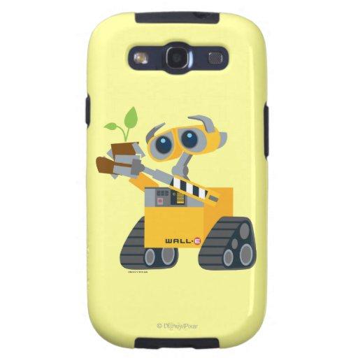 Planta que se sostiene triste del robot de WALL-E Funda Para Galaxy S3