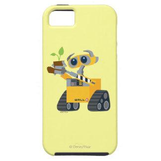 Planta que se sostiene triste del robot de WALL-E Funda Para iPhone SE/5/5s