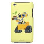 Planta que se sostiene triste del robot de WALL-E iPod Case-Mate Cárcasas