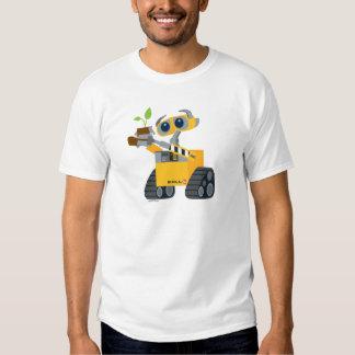 Planta que se sostiene triste del robot de WALL-E Playera