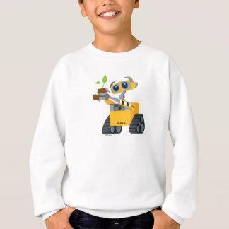 Planta que se sostiene triste del robot de WALL-E Sudadera