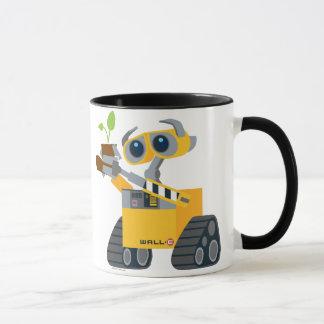 Planta que se sostiene triste del robot de WALL-E Taza