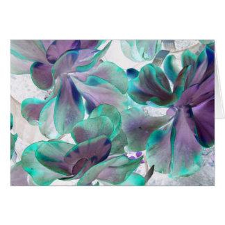 planta suculenta azul del flapjack del trullo inve felicitación