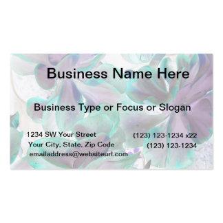 planta suculenta azul del flapjack del trullo inve plantilla de tarjeta de negocio