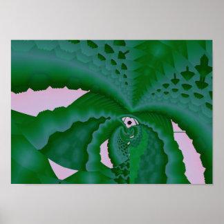 planta suculenta impresiones