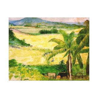 Plantación 1808 del azúcar lona envuelta para galerias