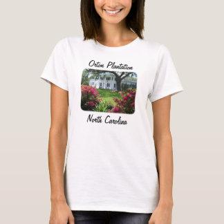 Plantación de Orton, camiseta de las señoras de