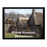 Plantación de Plimoth, Massachusetts Postales