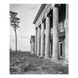 Plantación de Woodlawn, impresión de la foto del L