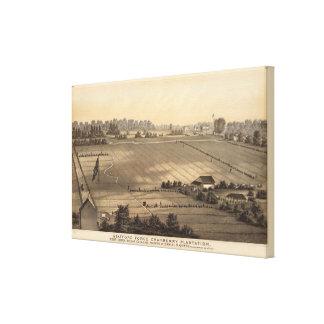 Plantación del arándano de la fragua de Stafford,  Lona Estirada Galerías
