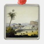 Plantación del azúcar, Antillas (grabado del Ornatos