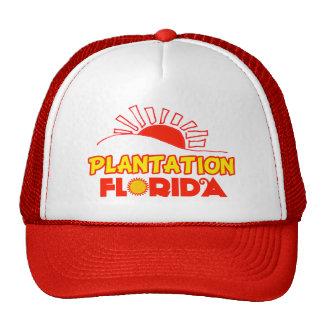 Plantación, la Florida Gorro