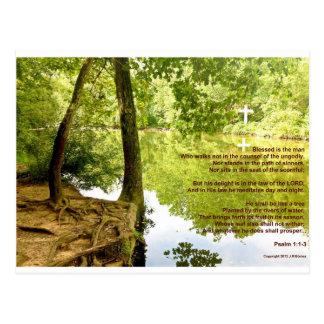 Plantado por los ríos de las aguas 1 - postal