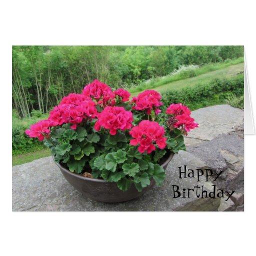 Plantador de los deseos del cumpleaños de los tarjeta de felicitación