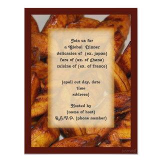 plantains i party invite