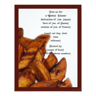 plantains ii party invite