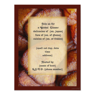 plantains party invite