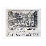 Plantando árboles frutales, de 'Le Parfait Jardini Postales