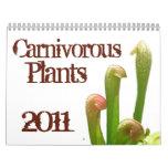 Plantas carnívoras calendario