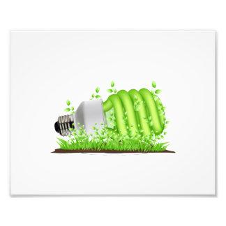 plantas de bombilla oblicuas del cfl ecology.png impresiones fotograficas