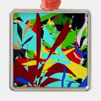 Plantas de la selva del arte abstracto ornato