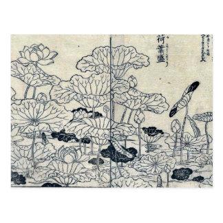 Plantas de Lotus por Tachibana, Yasukuni Postales