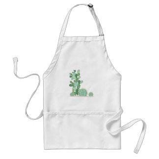 Plantas del cactus delantal
