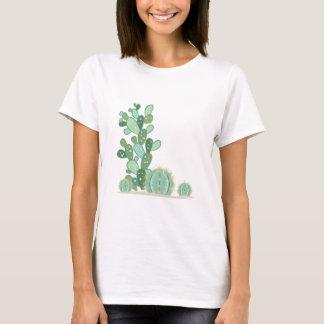Plantas del cactus playera