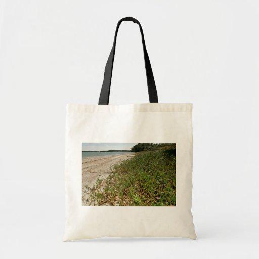 Plantas suculentas en la playa bolsas de mano