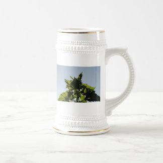Plantas verdes taza
