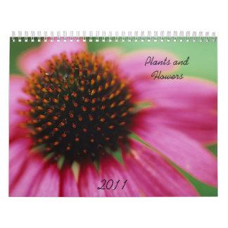 Plantas y flores calendarios de pared