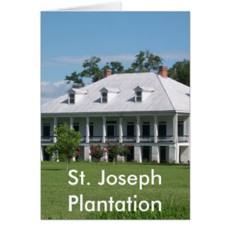 PLANTATION CARD
