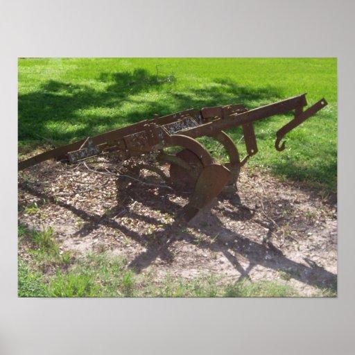 Plantation Farm Equipment Print