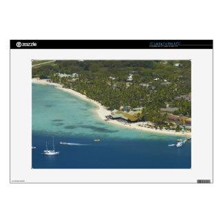 "Plantation Island Resort, Malolo Lailai Island 2 Decal For 15"" Laptop"