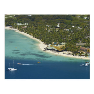 Plantation Island Resort, Malolo Lailai Island 2 Postcard