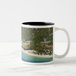 Plantation Island Resort, Malolo Lailai Island 2 Two-Tone Coffee Mug