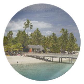Plantation Island Resort, Malolo Lailai Island 3 Plate