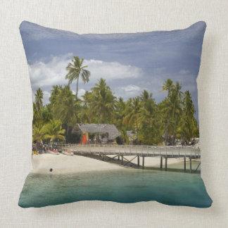 Plantation Island Resort, Malolo Lailai Island 3 Throw Pillow