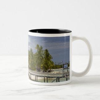 Plantation Island Resort, Malolo Lailai Island 3 Two-Tone Coffee Mug