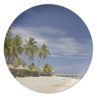 Plantation Island Resort, Malolo Lailai Island 4 Melamine Plate