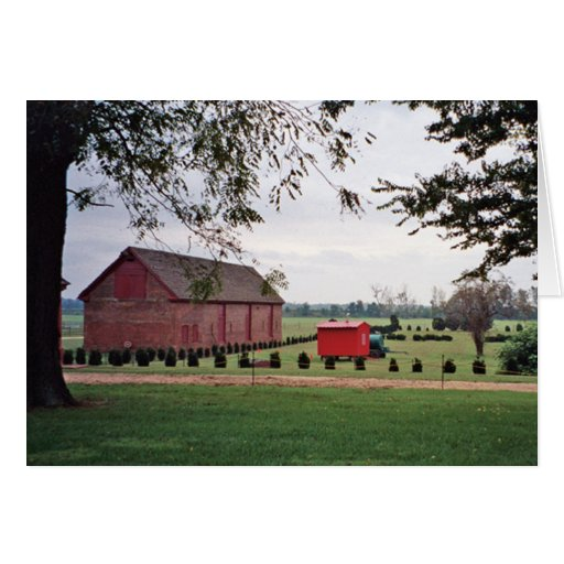 Plantation Meadow card